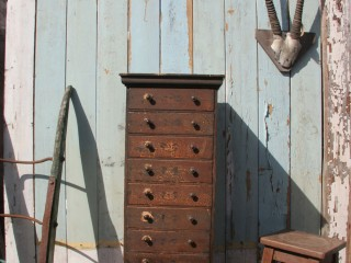 Victorian Pine Specimen Drawers