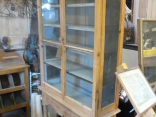 Victorian Glazed Pine Kitchen Unit – £250