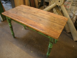 Pine Topped Table / £120